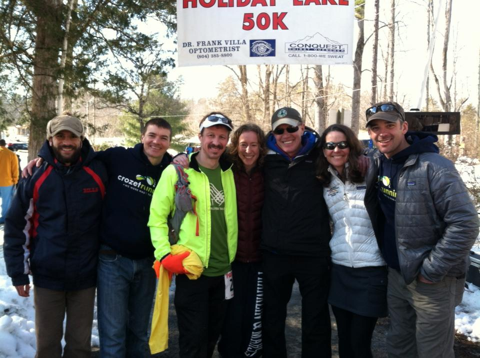 Crozet Running and CAT crew with Horty